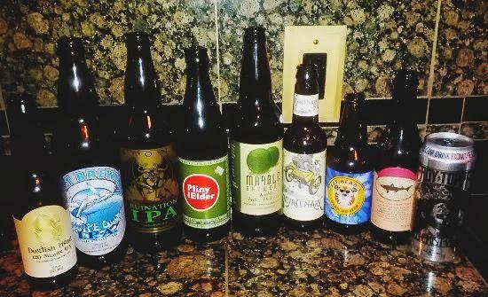 IPA beer tasting