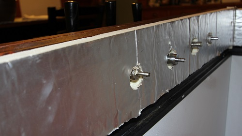 keezer collar insulation