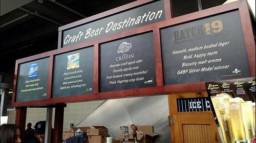 Craft Beer at Yankee Stadium