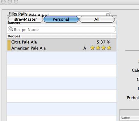 iBrewMaster Add Batch