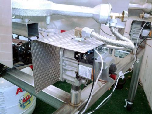 Honeywell gas valves on Brutus 10