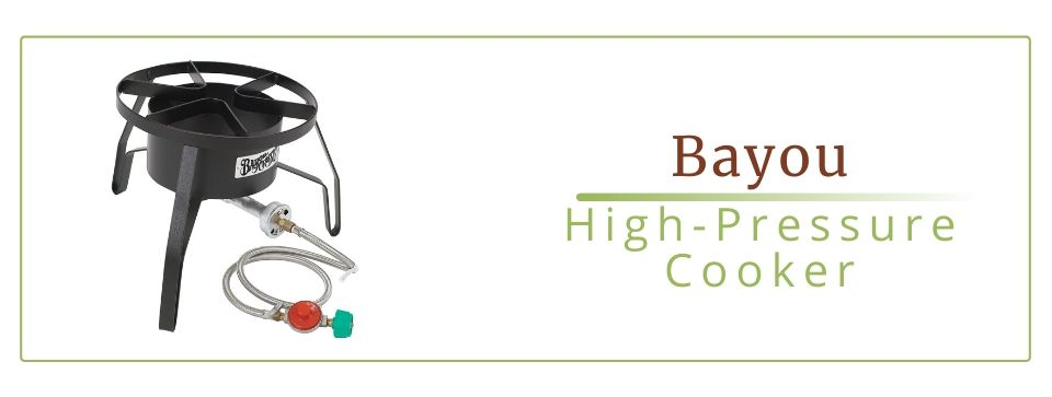 Bayou Classic High-Pressure Cooker