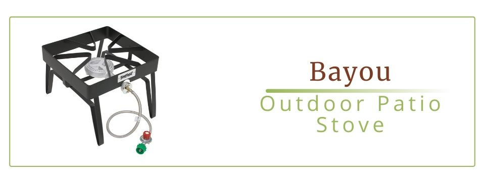 Bayou Classic SQ-14 16 inch Outdoor Patio Stove