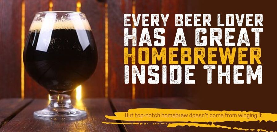 Beer Lover Great Homebrewer inside