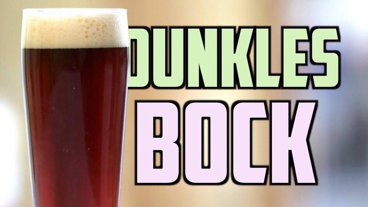 Dunkles Bock Recipe Homebrew Challenge
