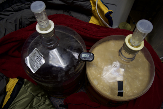 Day 3 -- French Saison takes off, WLP Saison III, not so much