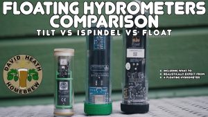 Floating Digital Hydrometers Comparison Tilt vs Float Vs iSpindel 4k HD