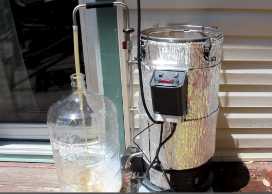 Grainfather transfer into the fermenter - Review by homebrew academy