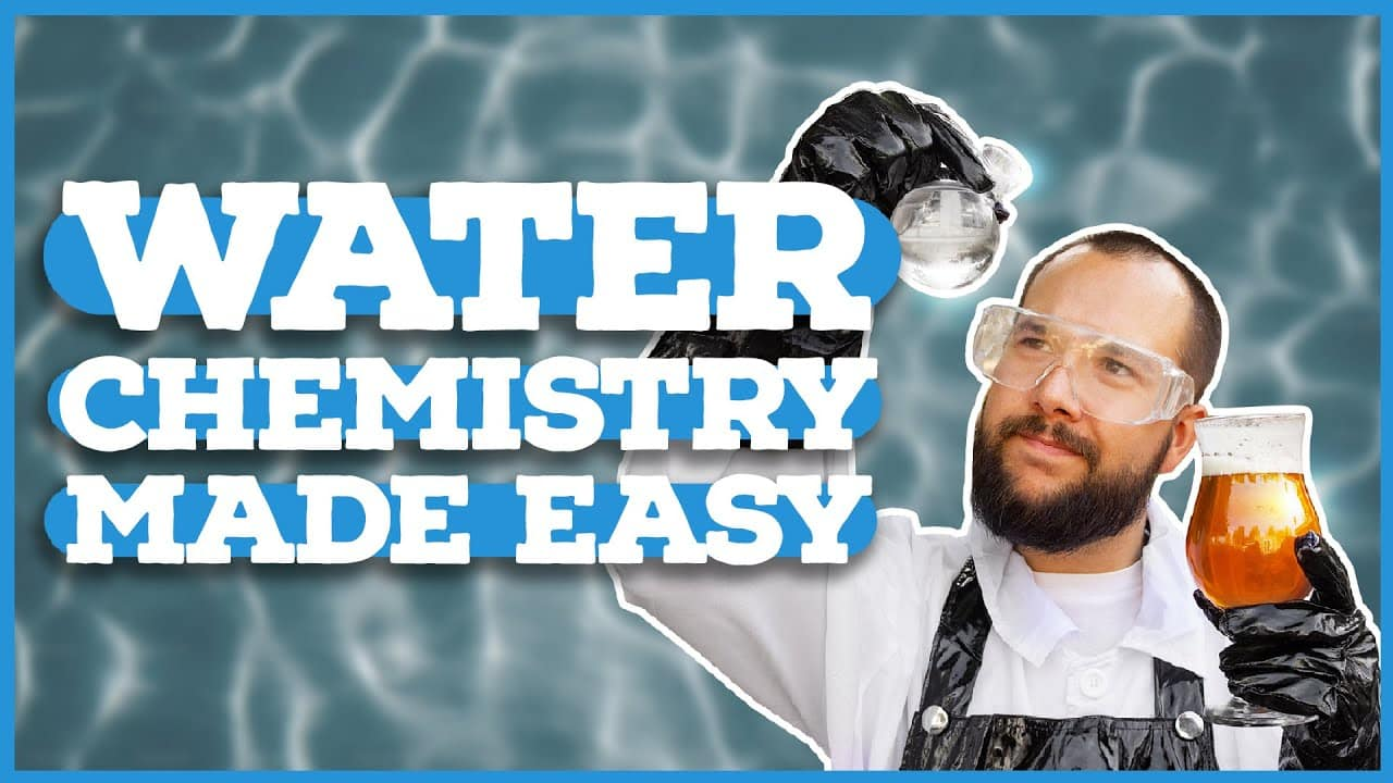 Home Brewing Water Chemistry Basics