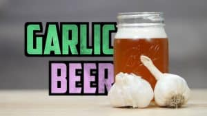 How To Brew Garlic Beer
