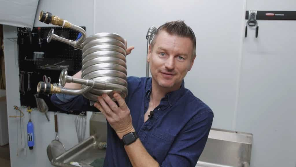 How To Brew Hefeweizen Weissbier Homebrew Challenge 11 - Counterflow Wort Chiller