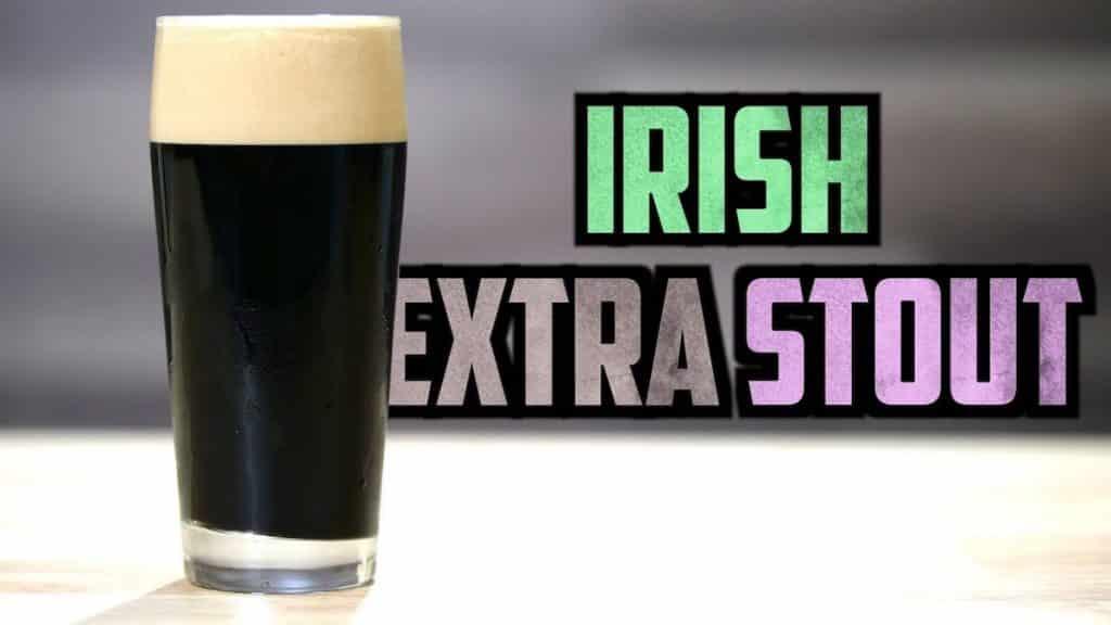 How To Brew Irish Extra Stout
