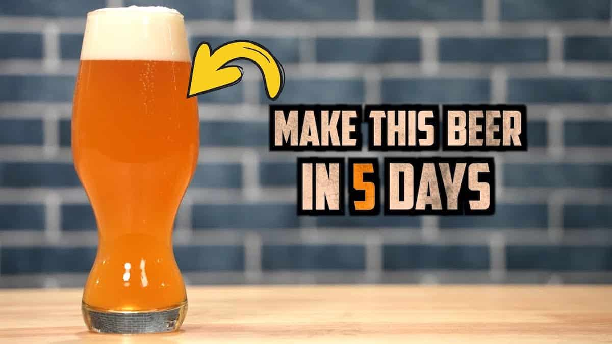How to Brew 5 Day IPA