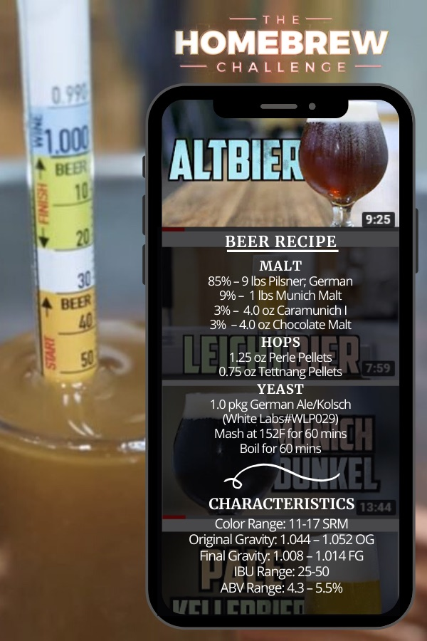 How to Brew Altbier Homebrew Challenge
