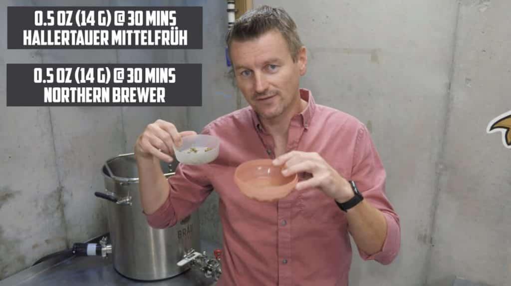 How to Brew Amber Kellerbier 15