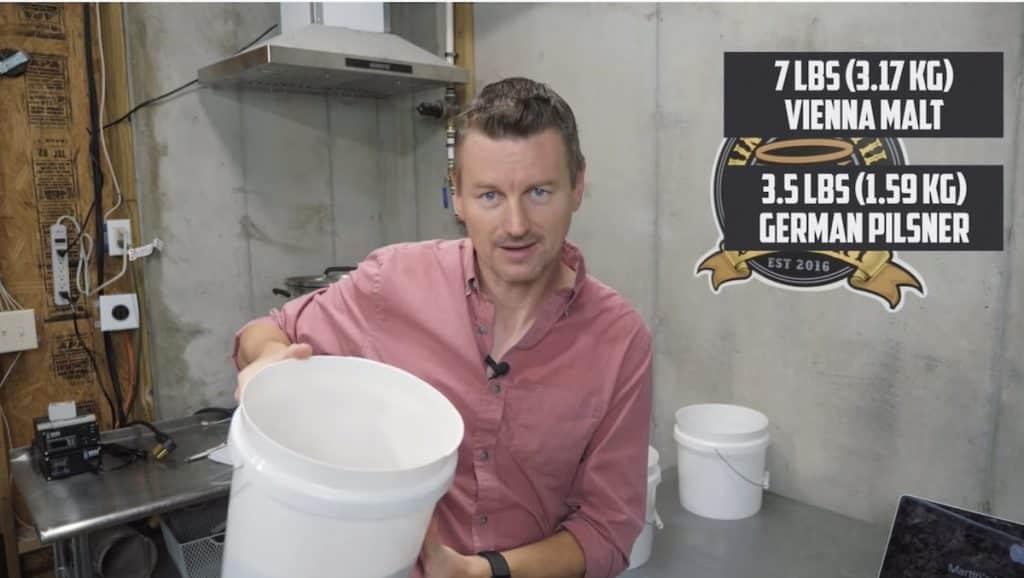 How to Brew Amber Kellerbier 5