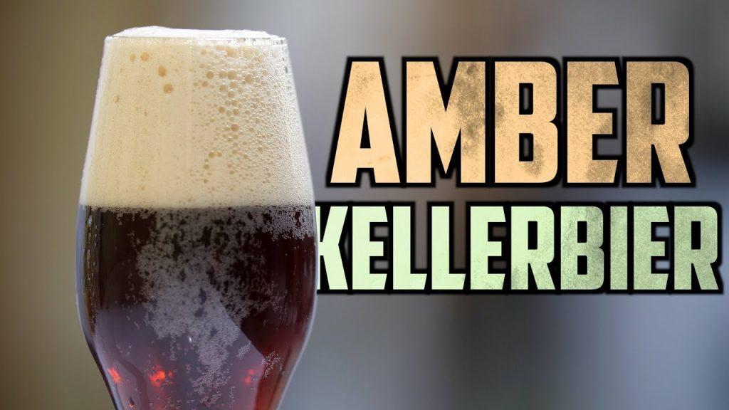 How to Brew Amber Kellerbier   Homebrew Challenge