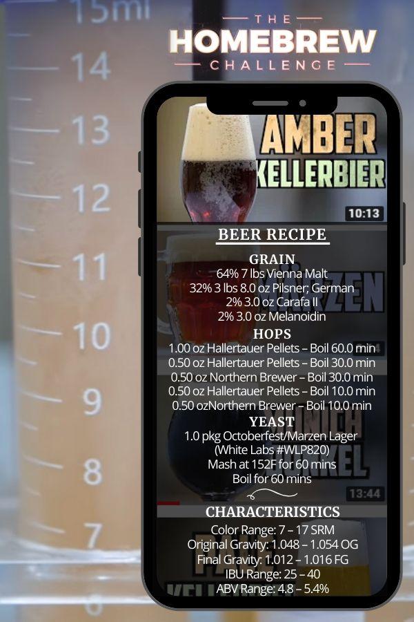 How to Brew Amber Kellerbier _ Homebrew Challenge