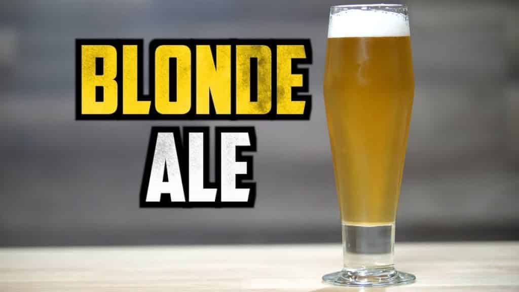 How to Brew American Blonde Ale