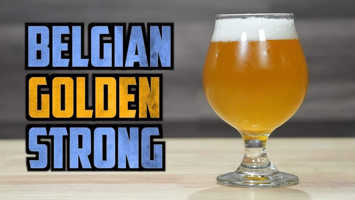 How to Brew Belgian Strong Golden Ale   Homebrew Challenge