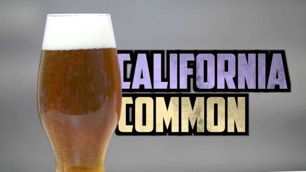 How to Brew California Common