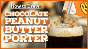How to Brew Chocolate Peanut Butter Porter