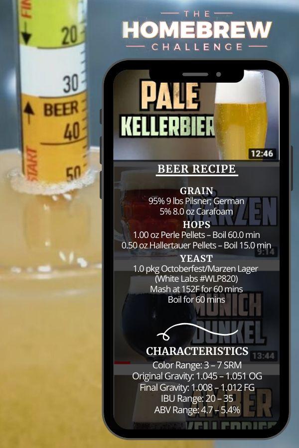 How to Brew Pale Kellerbier _ Homebrew Challenge