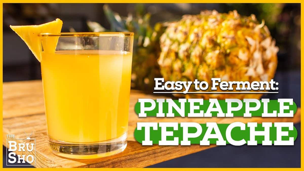 How to Brew Pineapple Tepache | The Bru Sho