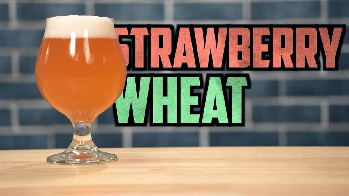 Strawberry Wheat – Brewing On The Farm