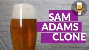 How to Brew a Sam Adams Boston Lager Clone Recipe