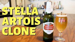 How to Brew a Stella Artois Clone Recipe