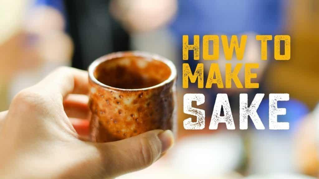 How to Make Sake at home - Homebrew Academy