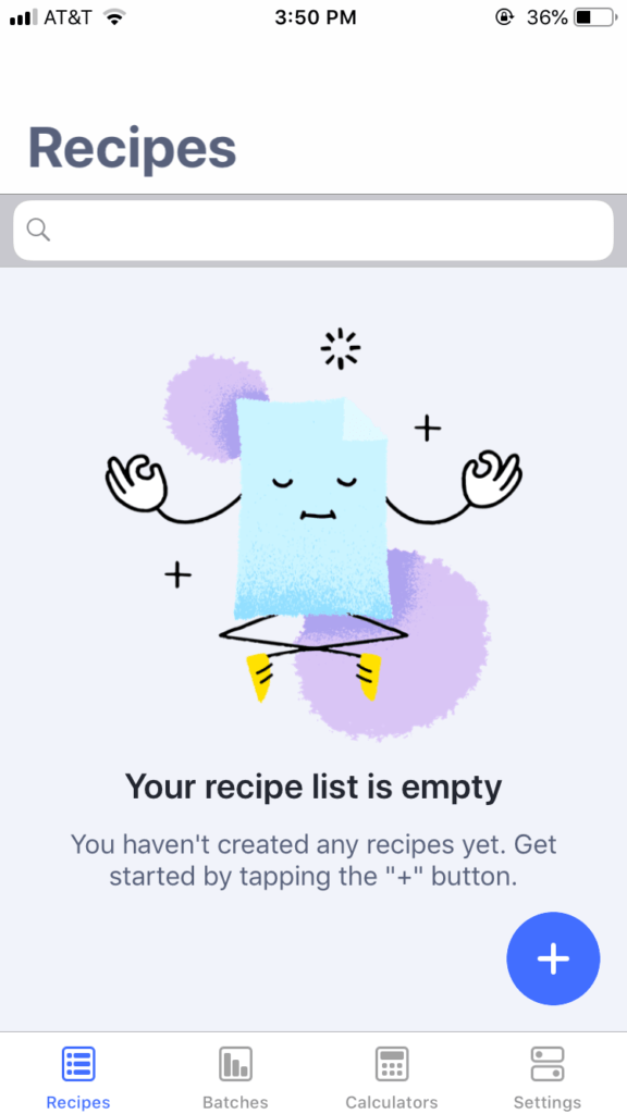 A Review of the Simple Brew App
