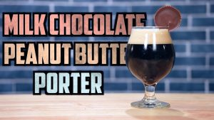 Peanut Butter Porter with Chocolate Cocoa Nibs