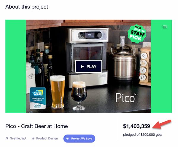 Pico-Kickstarter