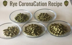 Rye CoronaCation Homebrew Recipe
