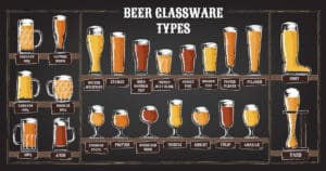 Types of Beer Glasses Mugs from Homebrew Academy