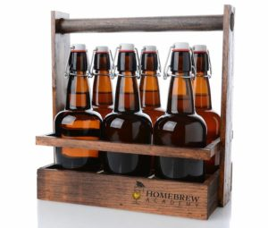 Wooden Beer Transport Carrier Homebrew Academy