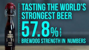World's Strongest Beer 57.8 percent ABV