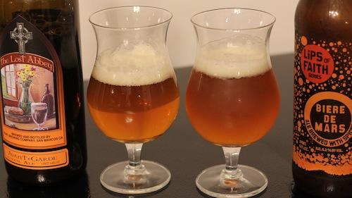 Biere de Garde vs Biere de Mars
