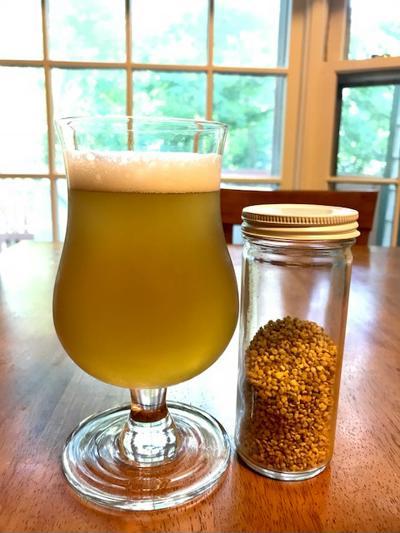 It's Bee Saison! A Bee Pollen Beer Recipe
