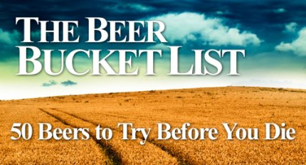 The BillyBrew beer bucket list newsletter