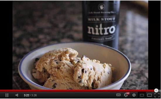 Video of Beer Ice Cream Recipe