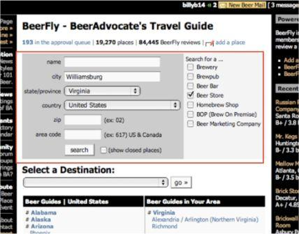 BeerFly Search