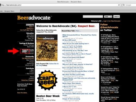 Beer Advocate BeerFly