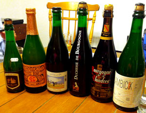 Sour beers for the bjcp exam.