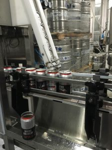 The best part about canning? Fresh beer!