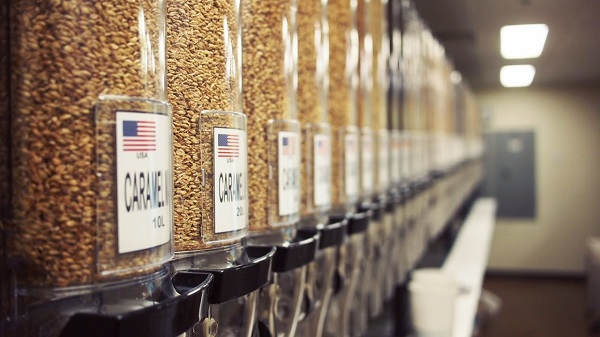 CO-Brew Grain Room
