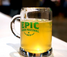 Epic Beer Festival Tasting Glass picture
