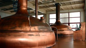 how spirits are made in distillery